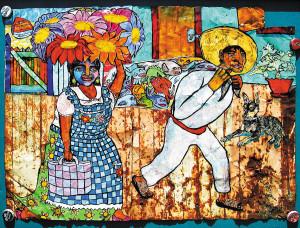 Creación donde destacan los colores, la imaginación y las tradiciones de Oaxaca.