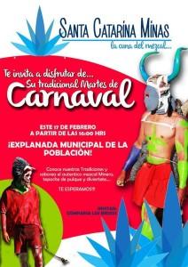 Martes de Carnaval en Santa Catarina Minas