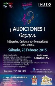 Audiciones en Oaxaca