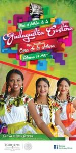 Jamiltepec cuna de la chilena guelaguetza 2015